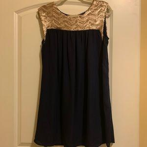 Altar'd State Navy Dress